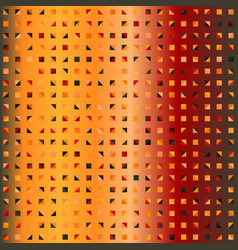 Gradient triangle pattern seamless vector