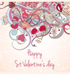 St valentine day card vector