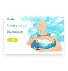Subtle energy concept esoteric human mind vector