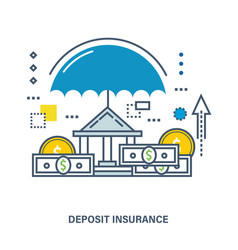 Concept of deposit insurance vector