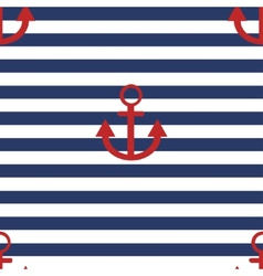 modern anchor background vector image