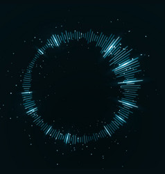 abstract equalizer wave light concept vector image