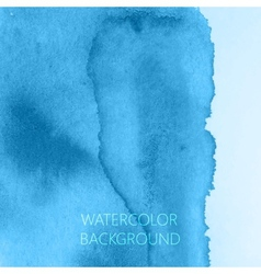 abstract blue watercolor background for your vector image