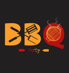 Bbq logo vector