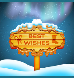 Best wishes background concept vector