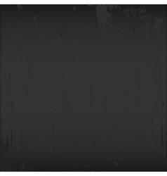 Black dirty chalkboard vector image