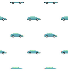 Car pattern flat vector