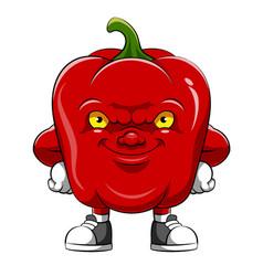 cartoon character an paprika vector image