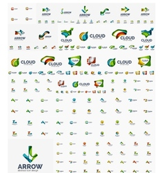 Company logo mega collection vector