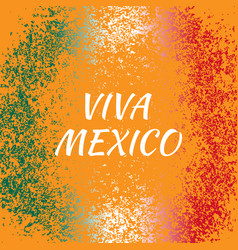 independence day of mexico concept of the mexican vector image