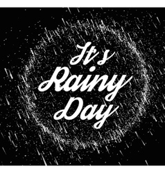 Rainy sky vector