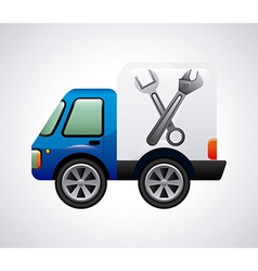 repair car design vector image