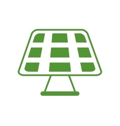 Solar panel Save energy design graphic vector image