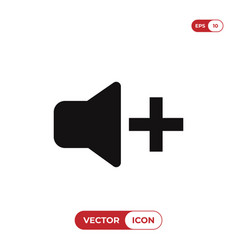 volume icon vector image
