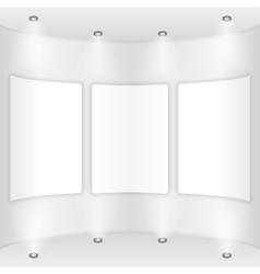 Gallery vector image vector image
