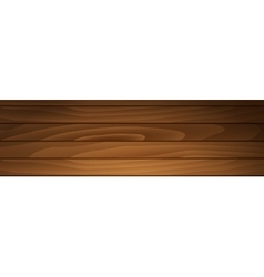 banner brown boards vector image