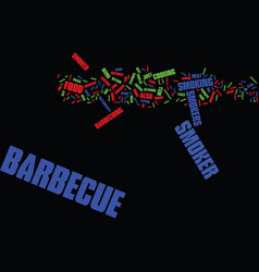 Barbecue tips text background word cloud concept vector