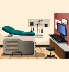 Doctor office vector
