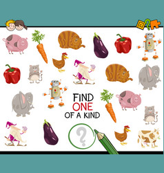 Find one a kind activity vector
