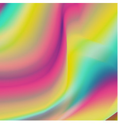 holography background trendy colorful vector image