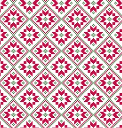 Nordic diamond seamless pattern vector