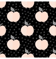 Seamless Apples Pattern vector