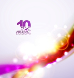Shiny line abstract background vector