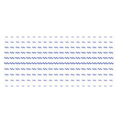 Sinusoid wave shape halftone pattern vector