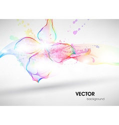 Soft Coloured Abstract Background vector image