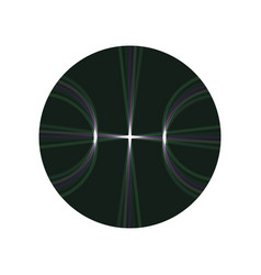 basketball ball sign vector image