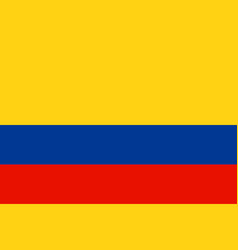 flag of colombia vector image vector image