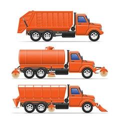 Cargo truck 20 vector