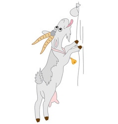 Cartoon Goat vector