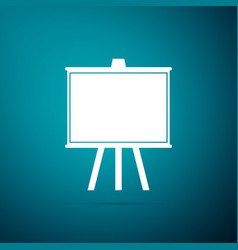 chalkboard icon isolated school blackboard sign vector image