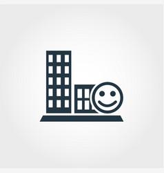 Conviviality creative icon monochrome style vector