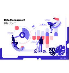 Data analytics statistics technology information vector