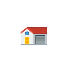 flat icon house element of vector image