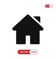 Home icon web pageui symbol vector