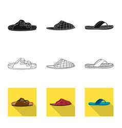 Man and foot logo vector