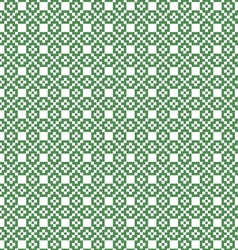 Nordic green and white seamless pattern vector