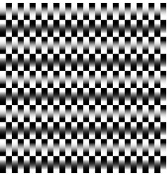 Pattern with alternating bars rectangles vector