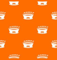 stadium pattern seamless vector image vector image