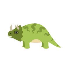 Triceratops dinosaur type vector