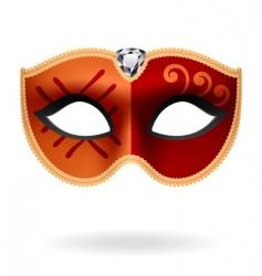 masquerade mask vector image vector image