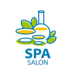 Abstract logo for Spa salon vector