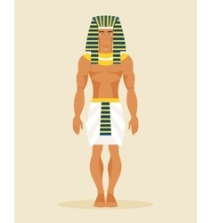 Ancient Egyptian man vector