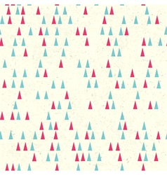 christmas tree seamless vector image
