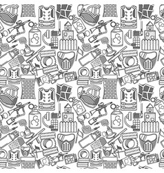 Monochrome background for paintball vector image