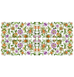 Ottoman motifs design series seventy six vector