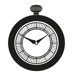 Pocket Watch silhouette vector